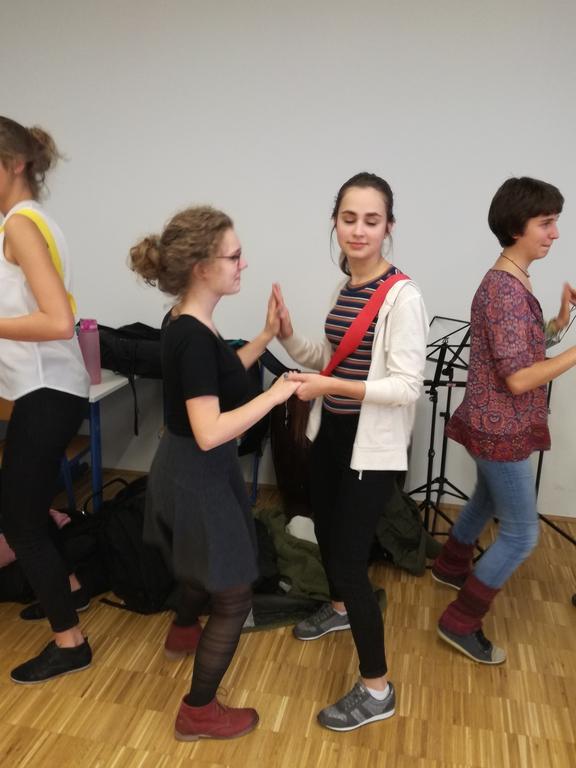 Salsa-/Rueda-Workshop im Spanisch-WPG 2017